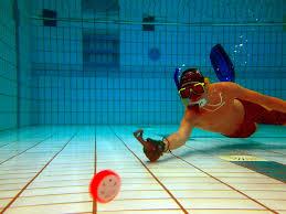 Onderwaterhockey training